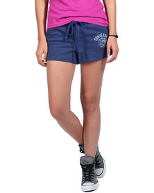 Converse Knit Board Shorts Blue