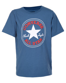 Converse Chuck Patch Tee Blue