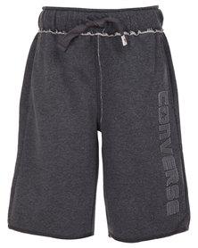 Converse Knit Shorts Grey