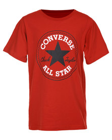 Converse Chuck Patch Tee Red