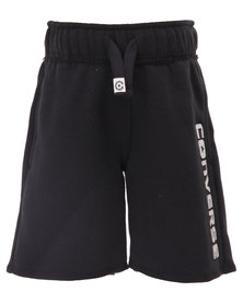 Converse Fleece Shorts Black