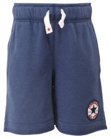 Converse French Terry Shorts Navy