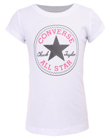 Converse Chuck Patch Tee White