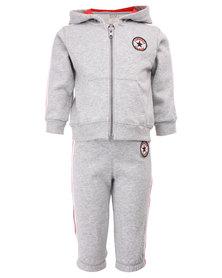 Converse Fleece Set Grey
