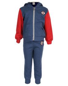 Converse Track Suit Blue
