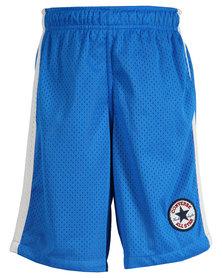Converse C.T.P Mesh Shorts Electric Blue