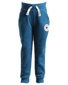 Converse Core Rib Cuff Pants Navy