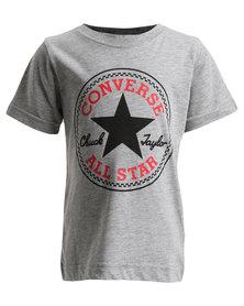 Converse Chuck Patch Tee Grey