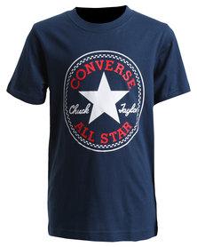 Converse Chuck Patch Tee Navy