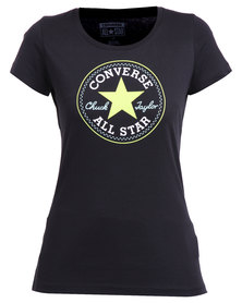 Converse Core Chuck Patch Crew Tee Black