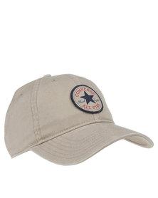 Converse Emblem Cap Beige