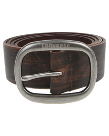 Converse Oasis Leather Belt Brown
