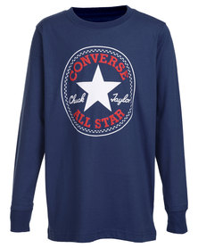Converse Chuck Patch Tee Navy/Red