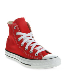 Converse Hi Top Sneakers Red