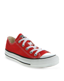 Converse Lo Top Sneakers Red
