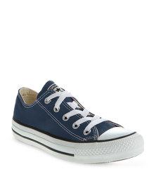 Converse Lo Top Sneakers Navy