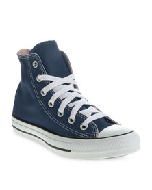 Converse Hi Top Sneakers Navy