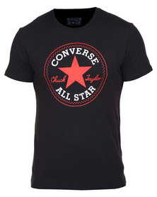 Converse Chuck Patch Tee Black
