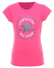 Converse Chuck Patch Tee Pink