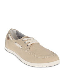 Coolway Freeflow Boat Shoes Beige