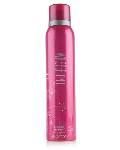 coty coty whisper pink perfume body spray value size 150ml coty ...