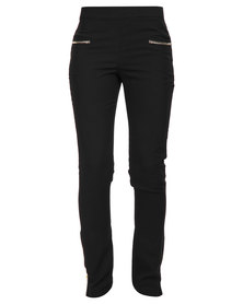 Crave Chain Trousers Black