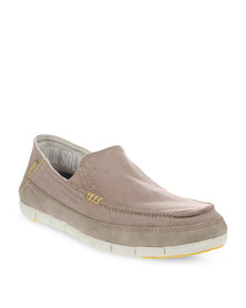 Crocs Stretch Sole Loafers Beige