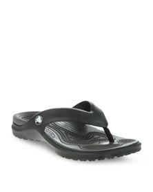 Crocs Modi Flip Slip-Ons Black