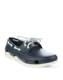 Crocs Beach Line Boat Shoe Navy