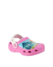 Crocs Frozen Fever Clogs Pink