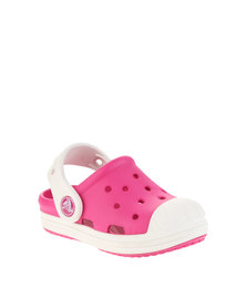 Crocs Bump It Clog Pink/White