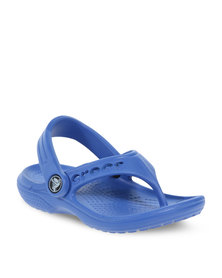 Crocs Baya Flip Flop Kids Blue
