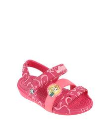 Crocs Keeley Frozen Flat Sandal Pink