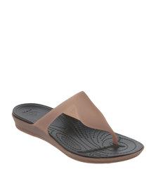 Crocs Rio Flip Flop W Bronze