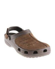 Crocs Yukon Mesa Clogs Brown
