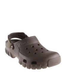 Crocs Offroad Sport Clogs Brown