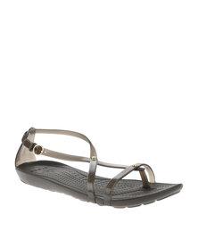 Crocs Really Sexi Flip Sandals Brown
