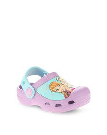 Crocs CC Frozen Clogs Purple