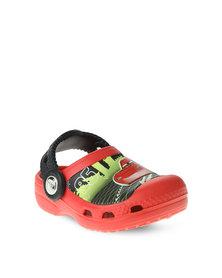 Crocs CC Lightening McQueen Shoes Red