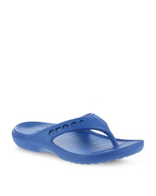Crocs Baya Flip Flops Blue