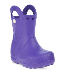 Crocs Handle It Rain Boots Purple