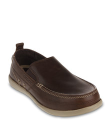 Crocs Harborline Loafers Brown
