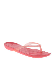 Crocs Rio Flip Flops Pink
