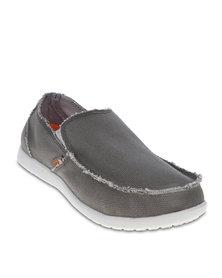 Crocs Santa Cruz Loafers Grey