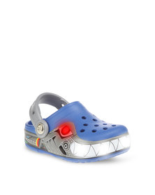 Crocs Lights Robo Shark Clog Multi