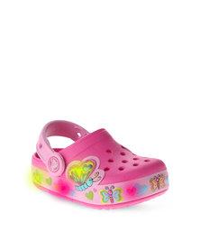 Crocs Crocslight Butterfly Clog Pink