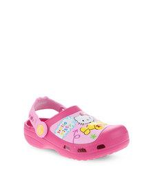 Crocs Hello Kitty Plane Clog Pink