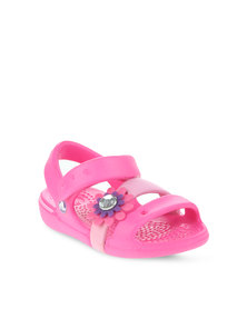 Crocs Keeley Petal Charm Sandal Pink
