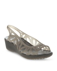 Crocs Adrina lll Mini Wedge Taupe