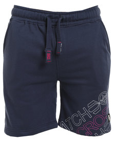 Crosshatch Faithless Jog CH Short Navy